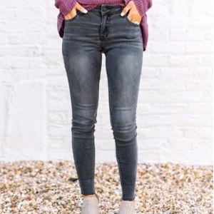 Pants - Charcoal Vintage Skinnies